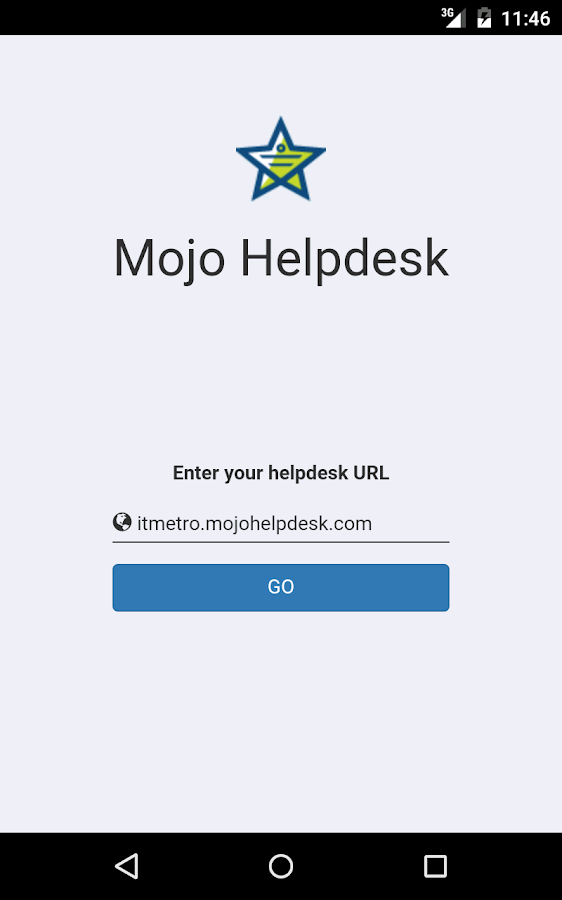 Mojo Helpdesk- screenshot