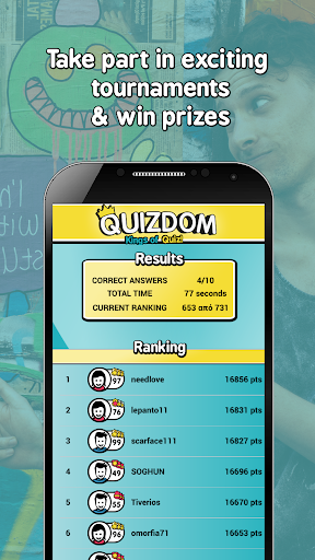 QUIZDOM - Kings of Quiz 5.44 screenshots 2
