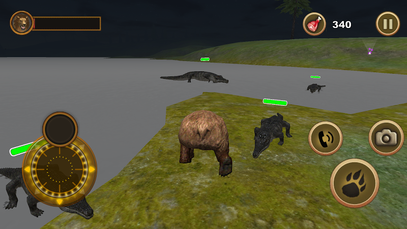 Скриншот Bear Survival Simulator