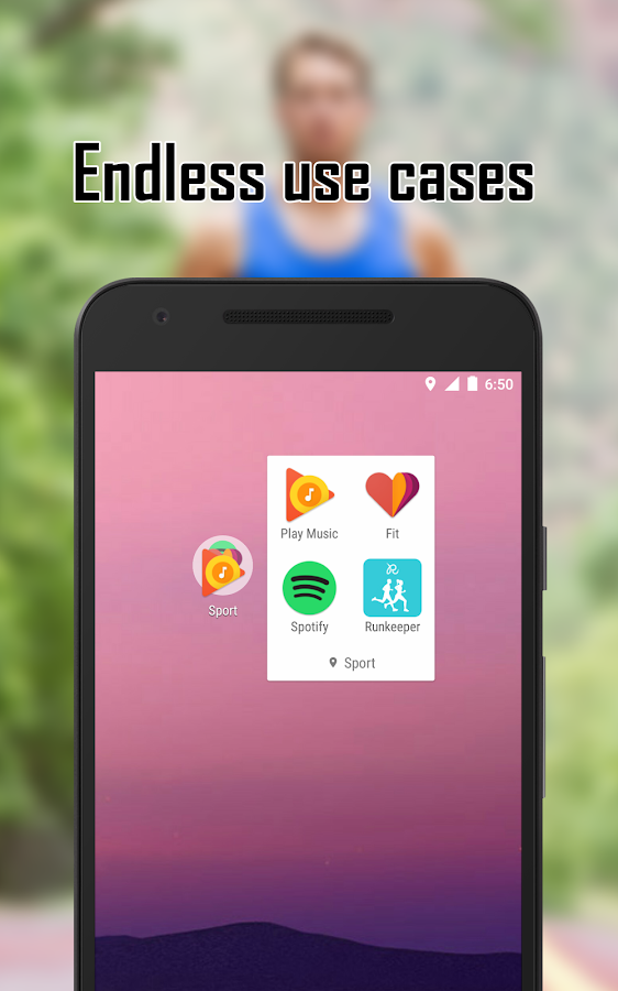 Contextual App Folder (C.A.F.) (Unreleased)- screenshot