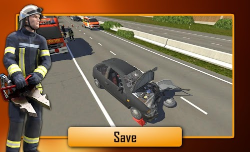 Screenshot 3 Emergency Call – The Fire Fighting Simulation 1.0.1065 APK+DATA hack