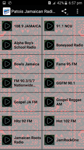 Patois Jamaican Radios