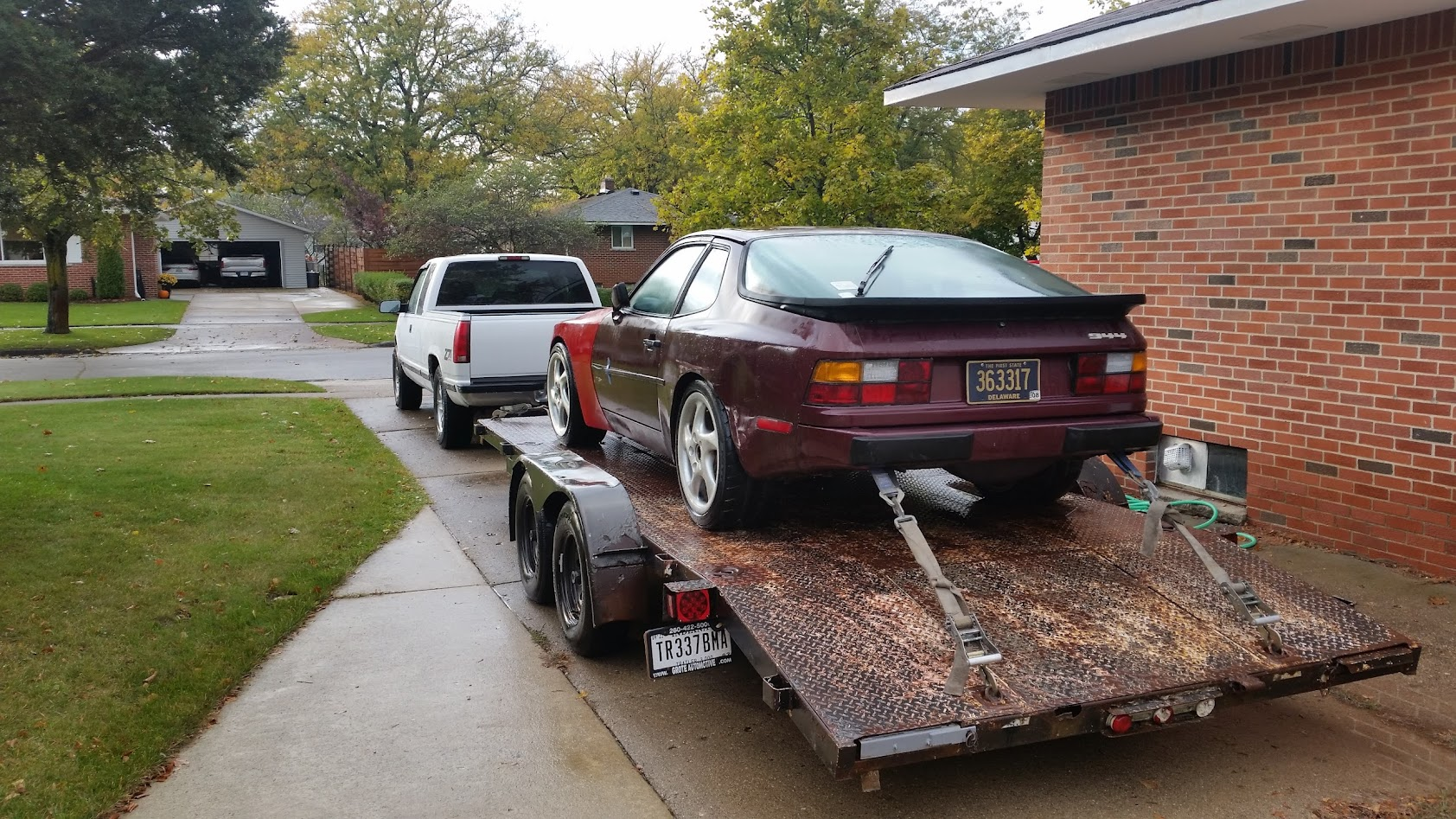 Cultural Appropriation 1984 Porsche 944 Ls1 Builds And