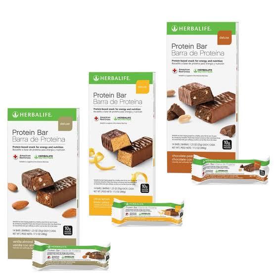 4. Herbalife Nutrition Herbalife Deluxe Protein Bar