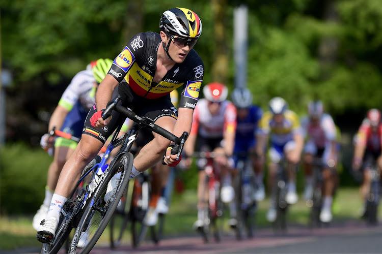 La Belgique devient vice-championne d'Europe de cyclisme sur route