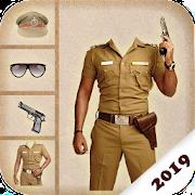 Boys Police Suit Photo Editor - Men Police Photo