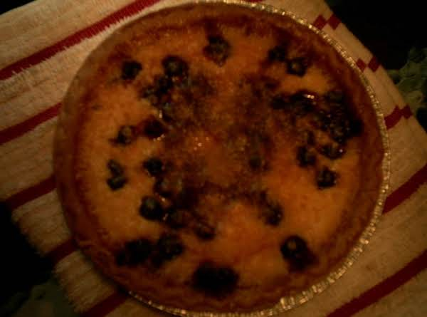 The Pie In This Picture Has A Half A Cup Of Fresh Blueberries Added To It!