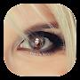 Eye Photo Frames, Girl\'s Eye Lens Photo Editor
