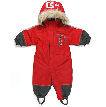 Tucky Overall , Red