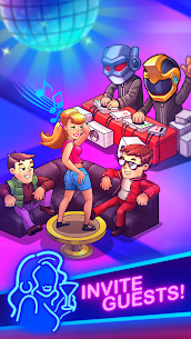 Party Clicker — Idle Nightclub Game Mod Apk (Free Shopping) 2