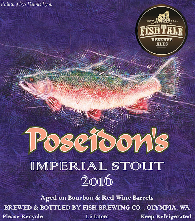 Logo of Fish Tale Poseidon's Imperial Stout