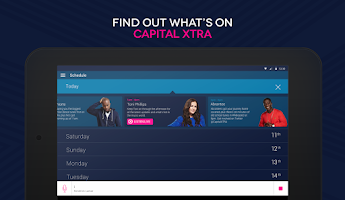 Screenshot of Capital XTRA Radio App