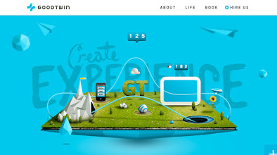 Photo: Site of the day 21 October 2012 http://www.awwwards.com/web-design-awards/goodtwin