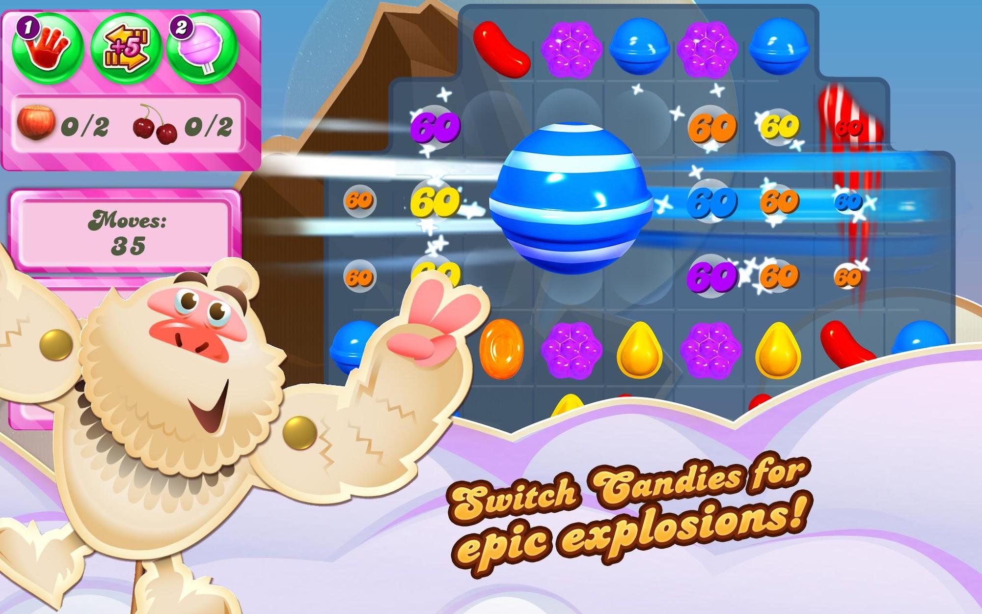 Candy Crush Saga screenshot #8
