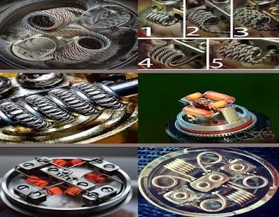 DIY Vape Coil Modification Design - náhled