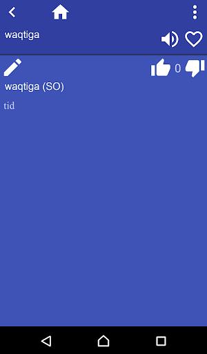 Somali Swedish dictionary 3.95 screenshots 2