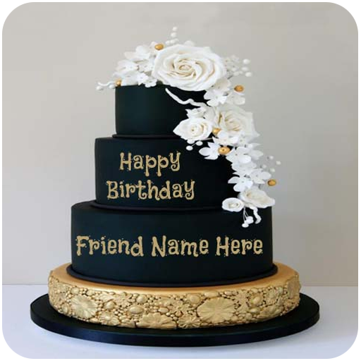 Superb Name On Birthday Cake Alttbykat Aal Google Play Personalised Birthday Cards Epsylily Jamesorg