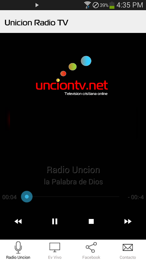 Radio Uncion TV- screenshot