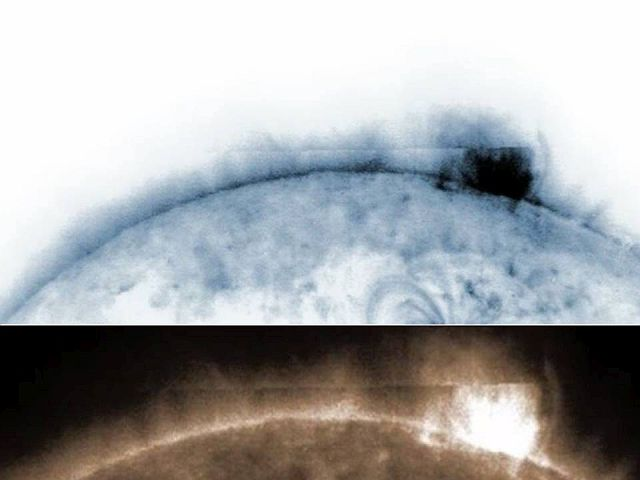 Solar Dynamics Observatory of NASA records Huge 'Rectangular Object' that seemed to emerge from the Sun 2