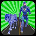 Multi Cheetah Speed hero Vs Wild Animals Icon