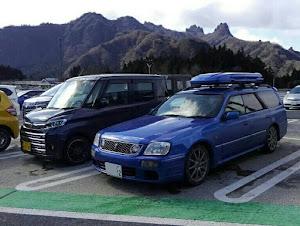 ステージア WGNC34 のカスタム事例画像 甲斐の浜省さんの2020年02月09日10:39の投稿