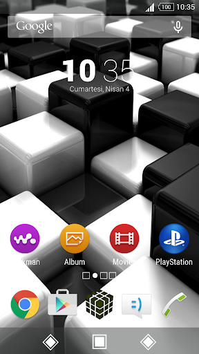 For Xperia Theme Cube
