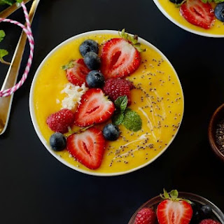 Mango Lime Smoothie Bowl.