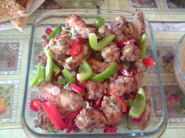 Baked Salt and Pepper Wings Recipe