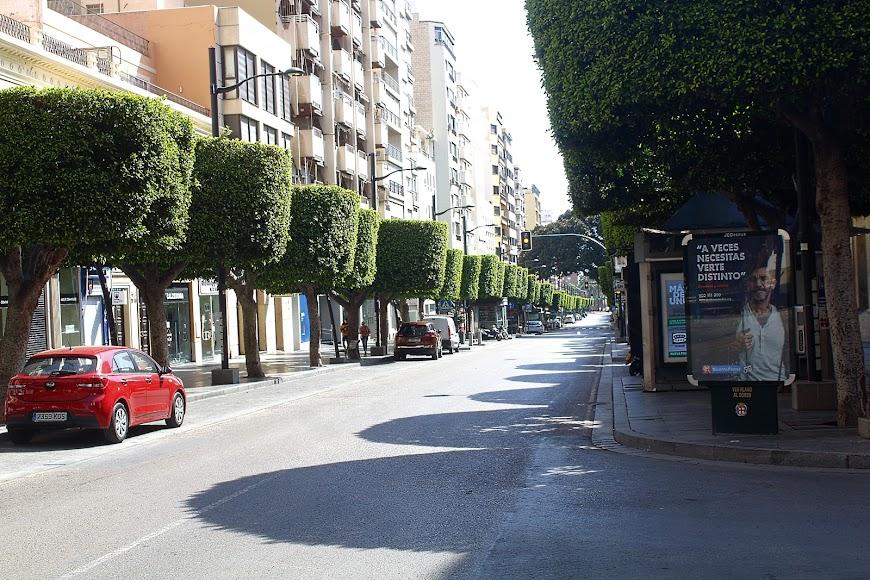 El Paseo de Almería.