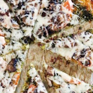 Crispy Roasted Cauliflower & Zucchini Pizza Crust.