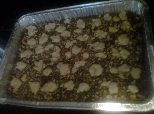 I added this step:  Sprinkle 1/2 cup chopped pecans over the chocolate layer.  Take...