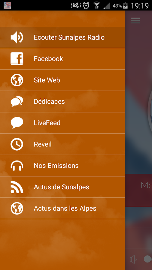 SunAlpes Radio- screenshot