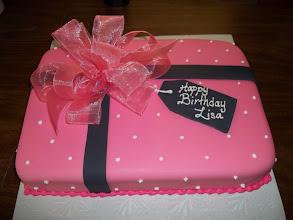 Photo: Present Cake