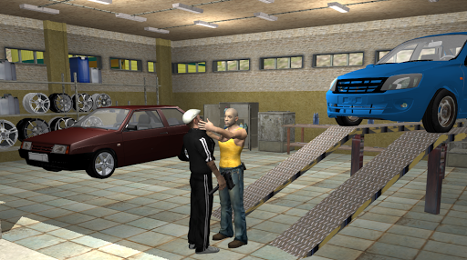 Criminal Russia 3D.Gangsta way APK MOD screenshots 2