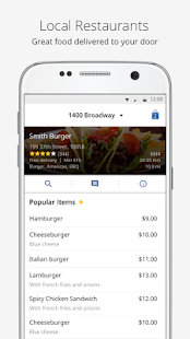Food Delivery | delivery.com- screenshot thumbnail