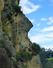 Photo: We hiked along the old Inca path to see this rock formation known as Inca face