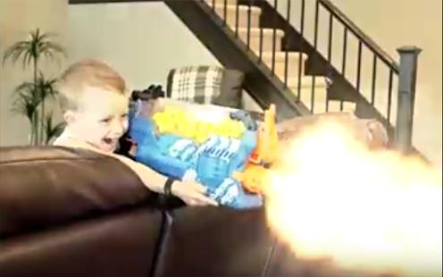 Nerf Gun Baby War's - náhled