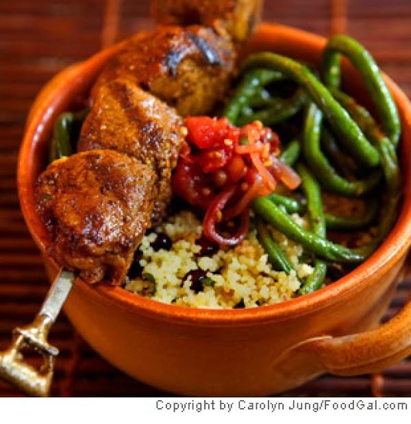 Spicy Lamb Skewers Recipe