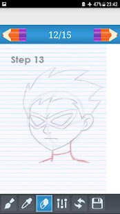 learn & How To Drawing - Titans Go - náhled