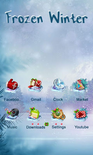 Frozen Winter Launcher