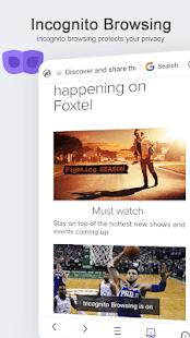 UC Browser Mini - Laden Sie Filme Screenshot