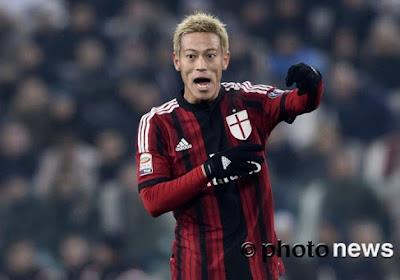 L'appel du pied un peu triste de Keisuke Honda à deux grands clubs européens