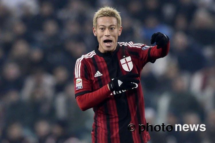 Keisuke Honda weet van geen ophouden en heeft een nieuwe club gevonden