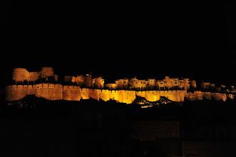 Photo: Jaisalmer - le fort vu depuis la ville
