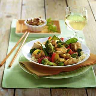 Chicken Cashew Stir Fry.