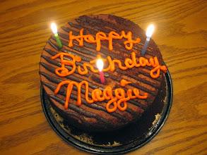 Photo: Maggie Peterson Birthday cake (Jan 11)