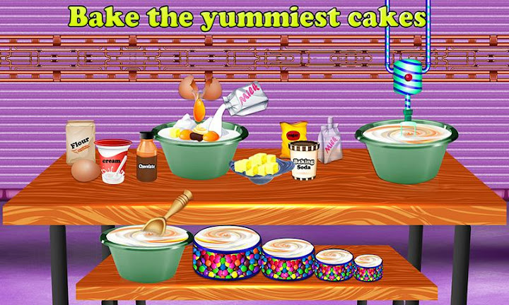 Birthday Party Cake Factory Android App Screenshot