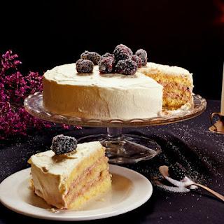 Blotkake (Norwegian Cream Cake)