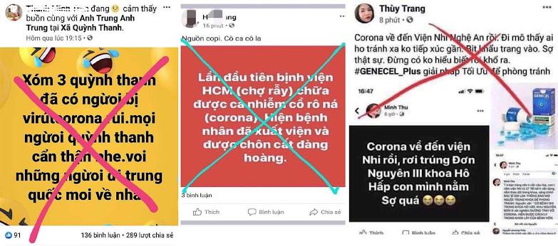 Một số facebook tung tin thất thiệt bị triệu tập, xử lý