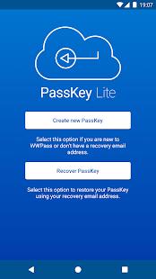 WWPass PassKey Lite - náhled